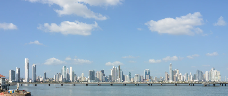 Casco Viejo Panama City Skyline