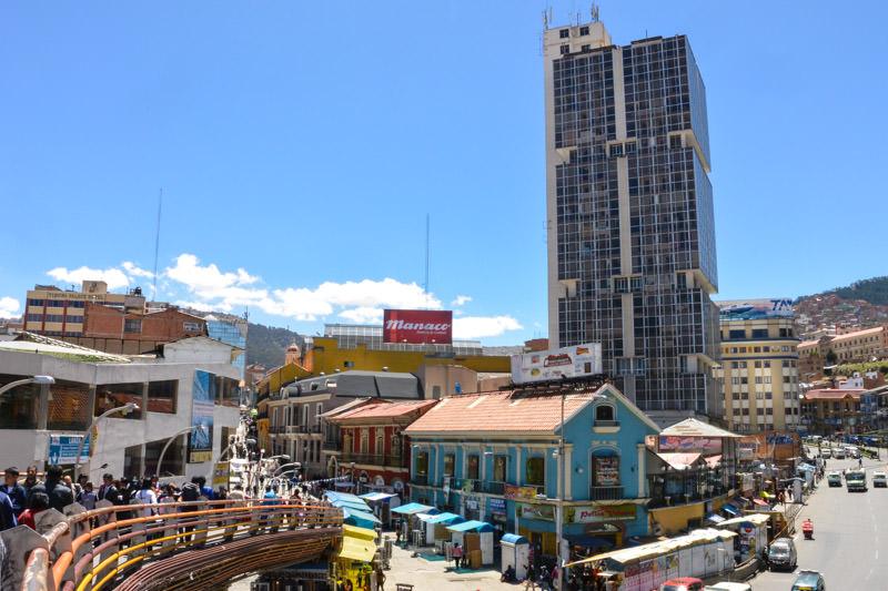Bright colors in La Paz Bolivia