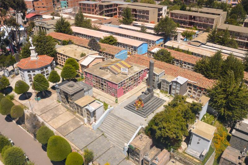 Dangerous Cemetery Area in La Paz Bolivia