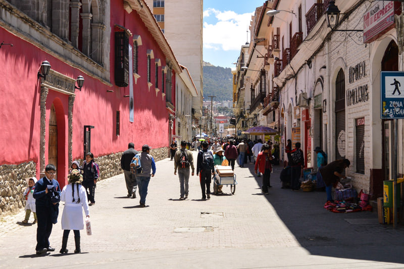 Street Harassment in La Paz Bolivia