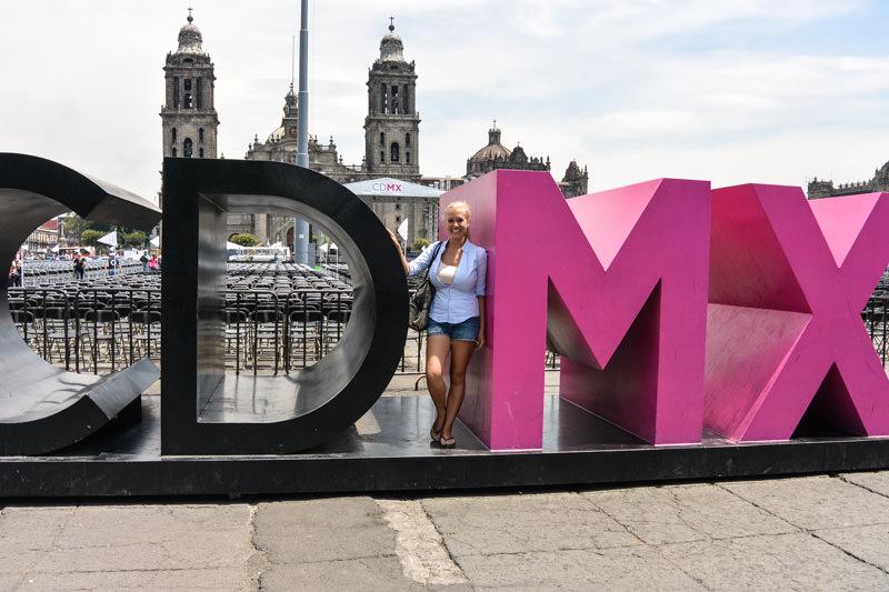 Mexico City CDMX Letters