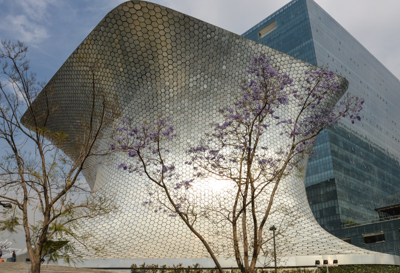 Polanco Mexico City Soumaya Museum