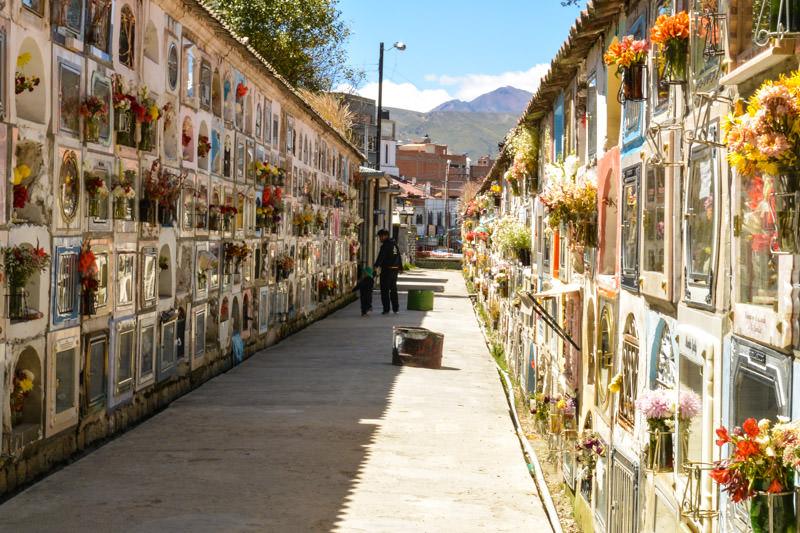 La Paz Cemetery Bolivia