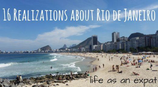 16 realizations about rio de janeiro life as an expat