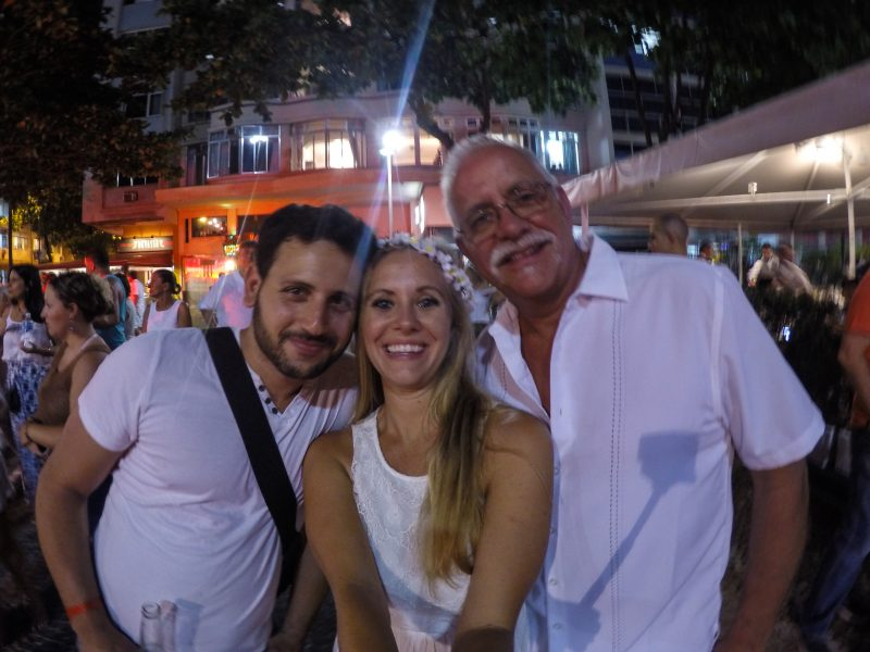 Wearing White in Rio de Janeiro for New Year's Eve