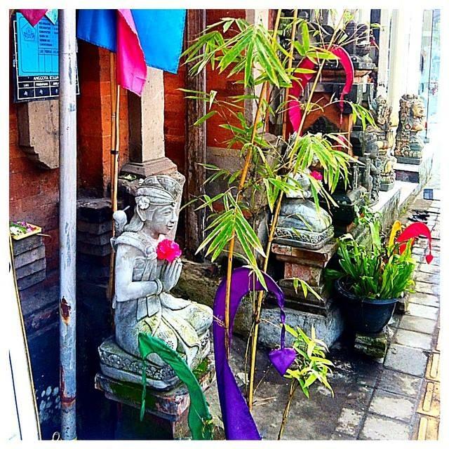 Offerings in Ubud, Bali