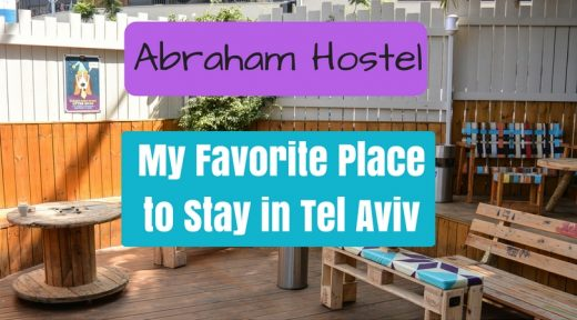 my favorite place to stay in Tel Aviv - Abraham Hostel!