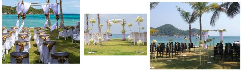 Wedding at View Point Resort Koh Tao
