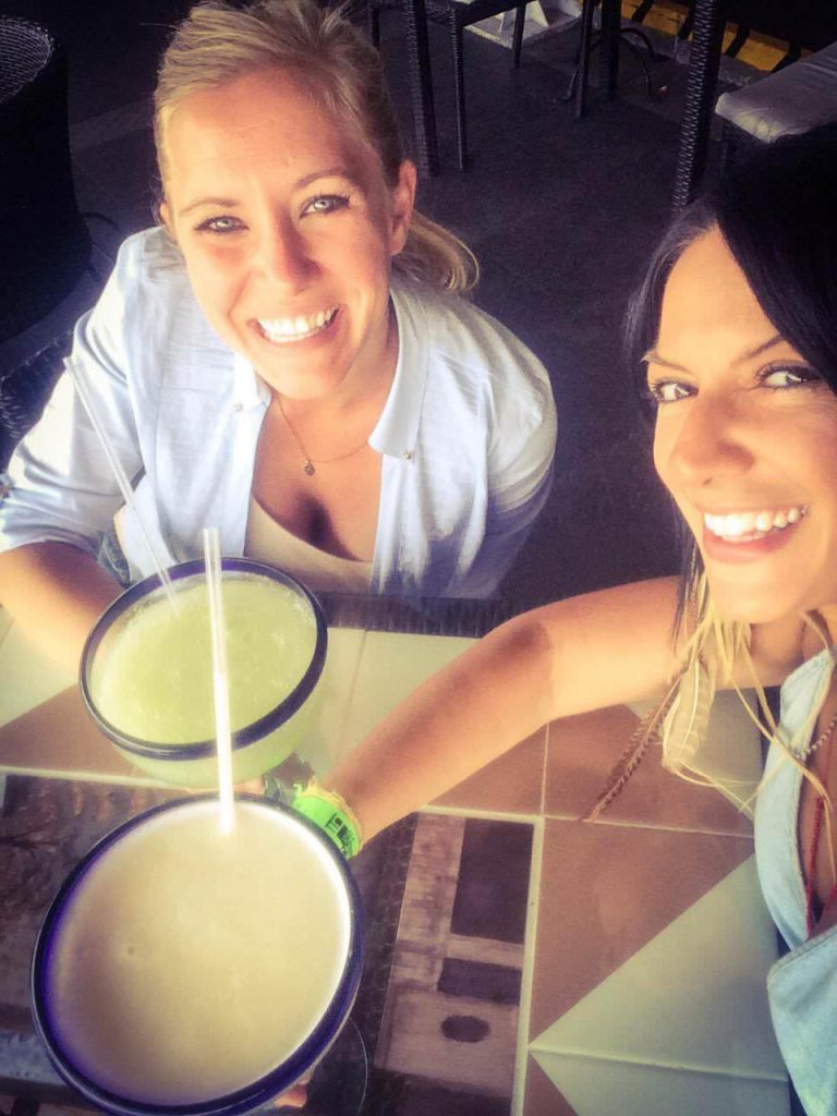 Margaritas in Mexico City Me and Bel
