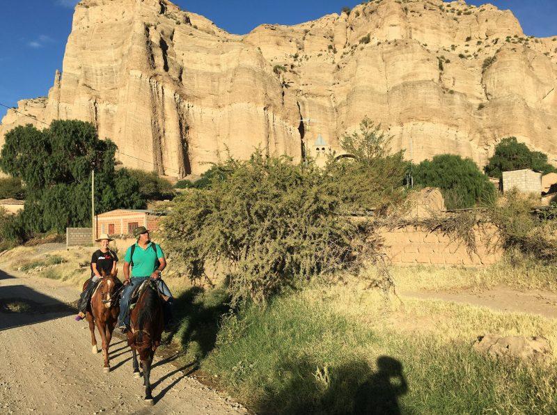 Horse Trek in TUpiza Bolivia