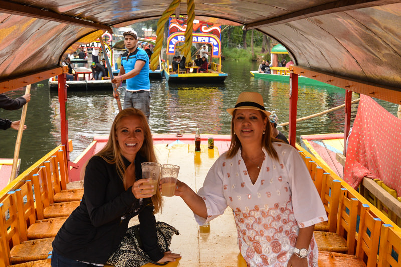 Mexico City Xochimilco Ema and Me