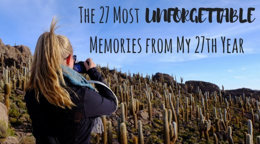 The 27 Most Unforgettable Memories from My 27th Year