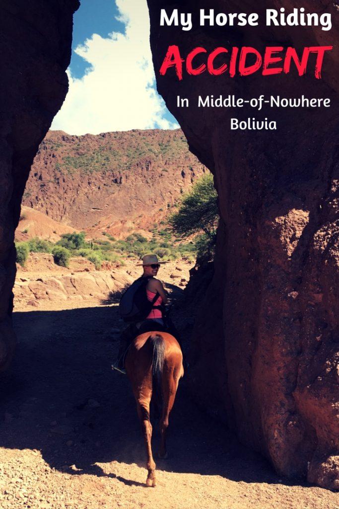 My Horse Riding Accident in Tupiza Bolivia