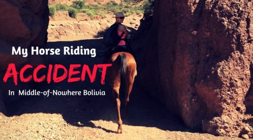 My Horse Riding Accident in Tupiza Bolivia