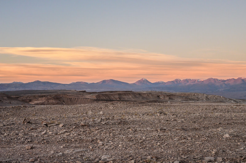 Valle de la Luna, Chile Sunset