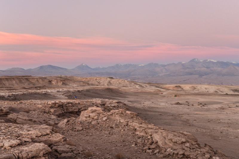 Valle de la Luna, Chile Sunset