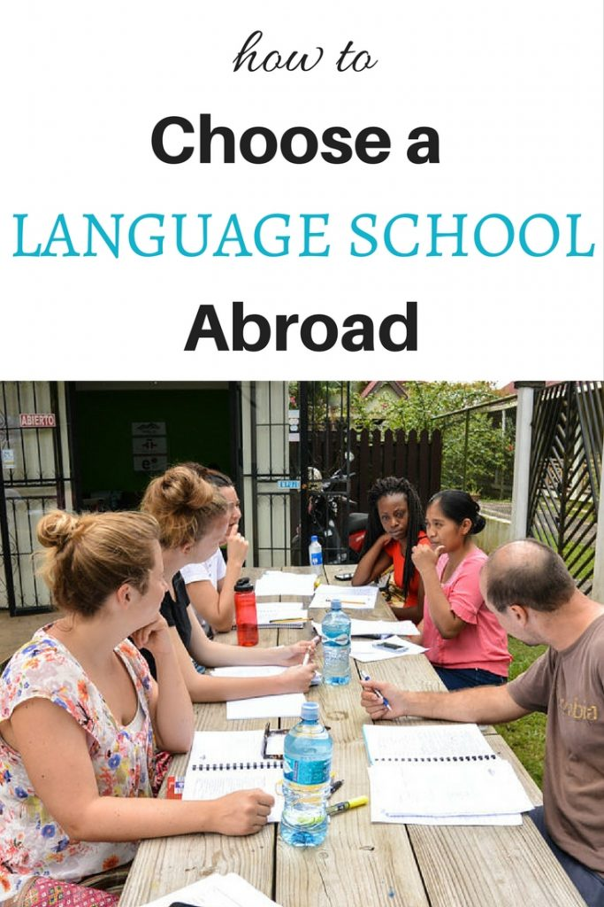 How to choose a language school abroad1