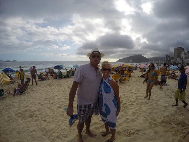 With my Dad in Rio de Janeiro