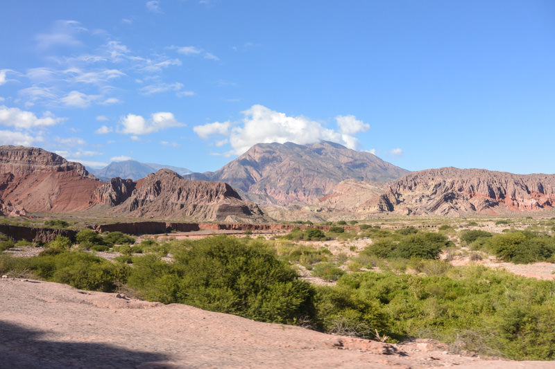Salta to Cafayate Argentina Bus Ride