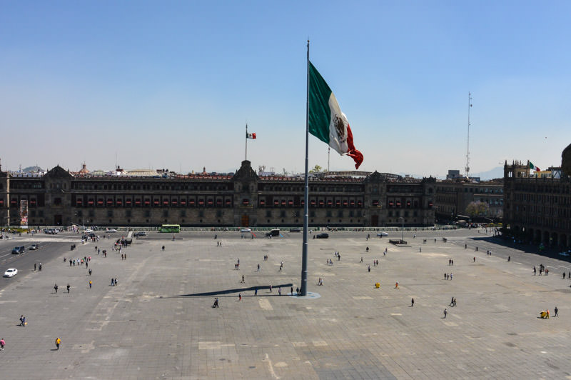 Zocalo of Mexico City