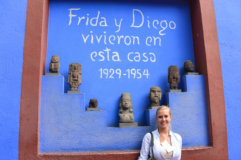 What to do in Mexico City: Visit Frida Kahlo Museum