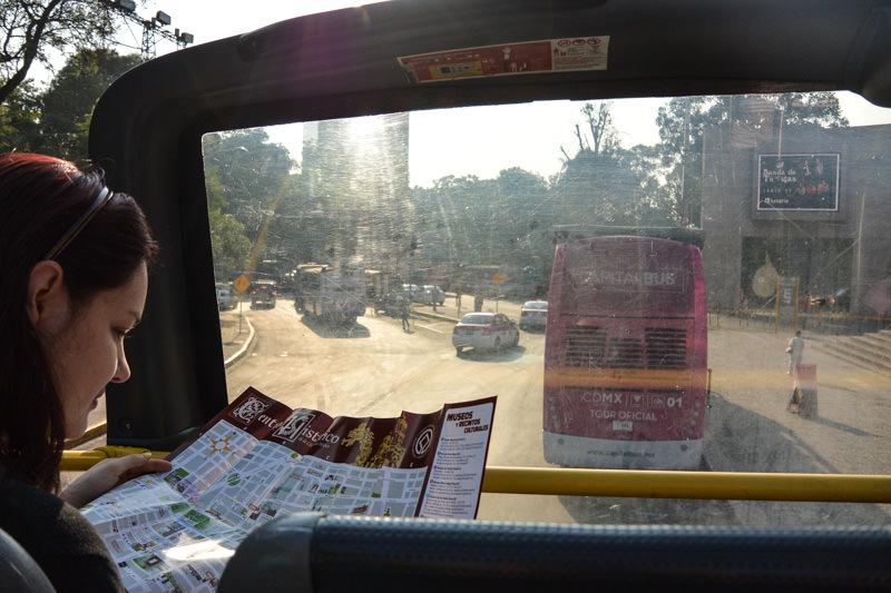 Mexico City Hop-On Hop-Off Tour Bus