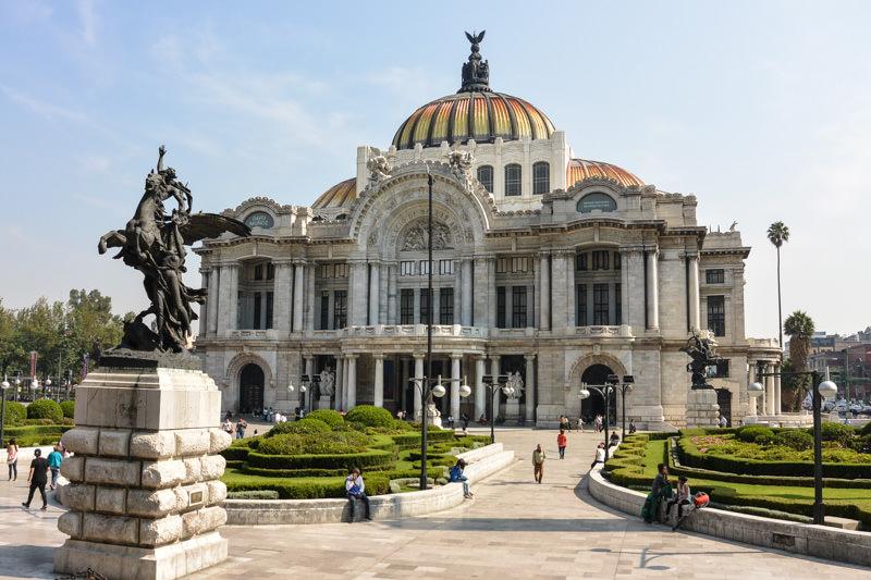 Belles Artes in Mexico City