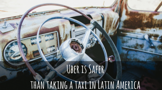 Uber is safer than taking a taxi in Latin America