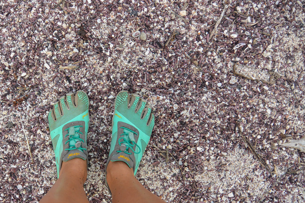 Electric Blue Vibram Five Fingers Galapagos