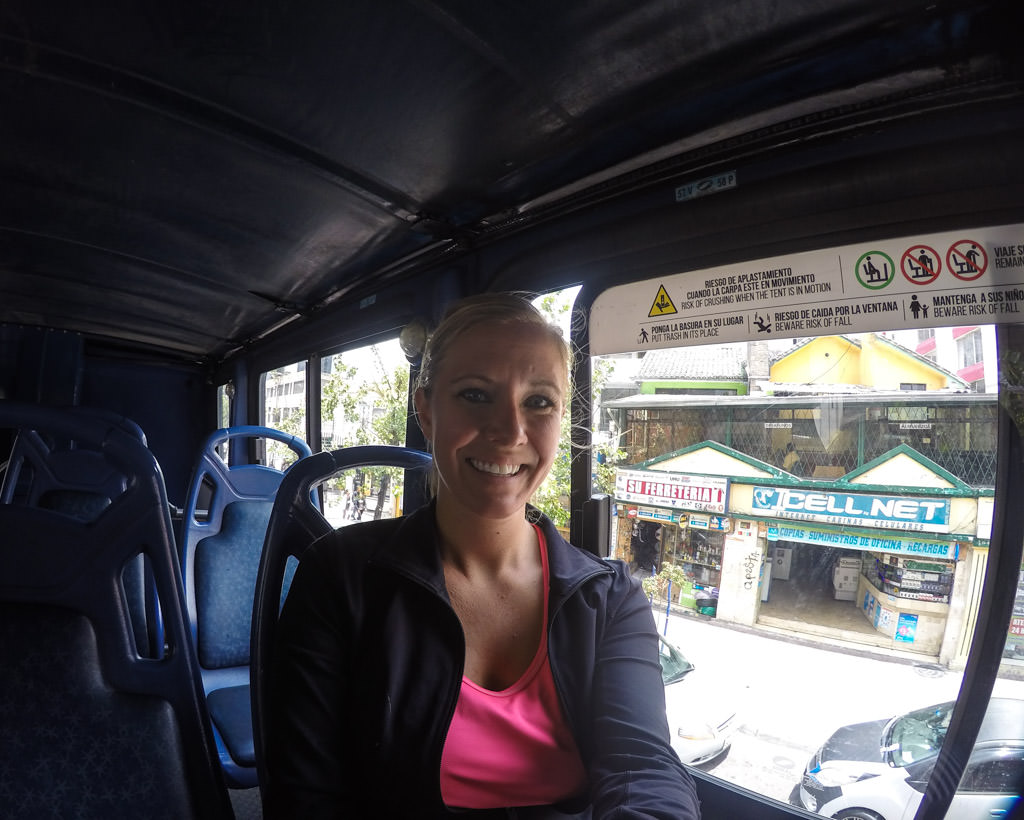 Stephanie Kempker Edri - Quito Tour Bus