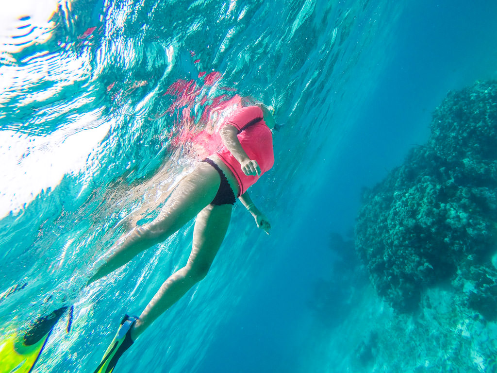 Snorkeling in Belize: Mexico Rocks Snorkel Site