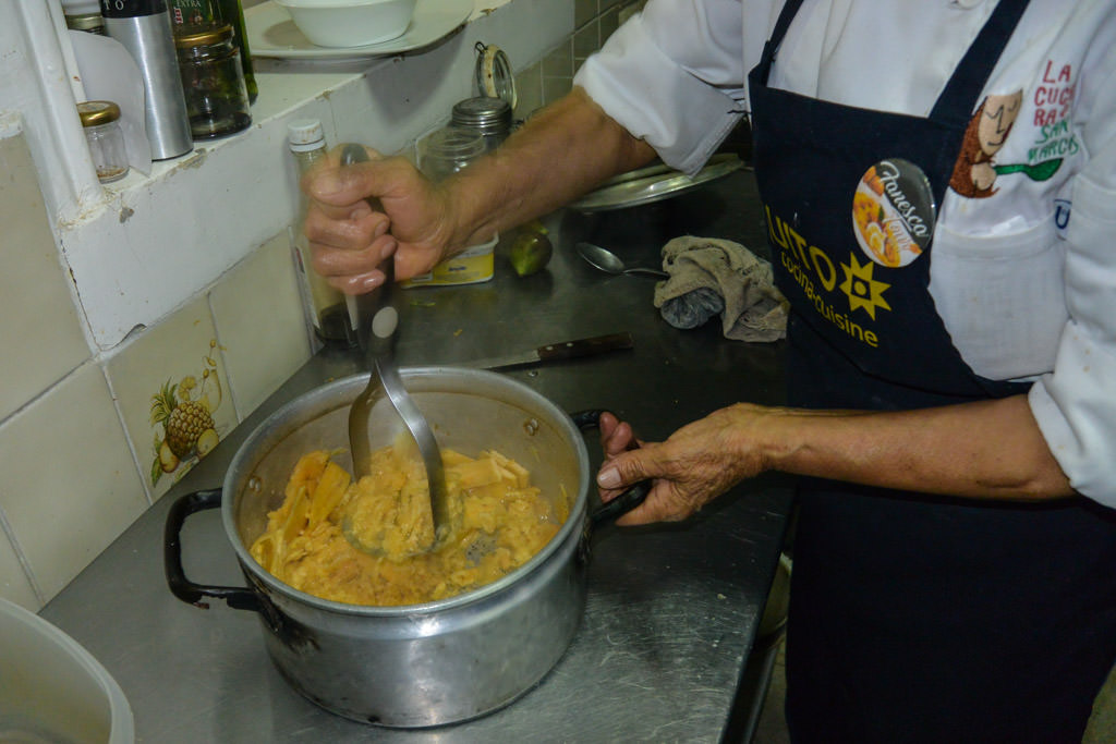 Vegetarian Cooking Class at Cuchara de San Marcos in Quito Ecuador