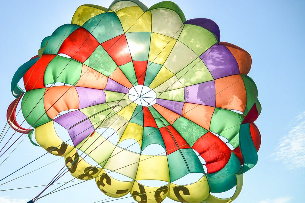 Parasailing with a Fear of Heights
