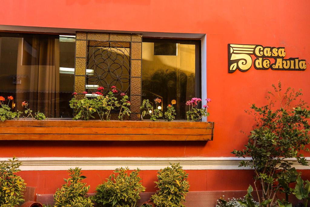 Stay at Hotel Casa de Avila Arequipa, Peru