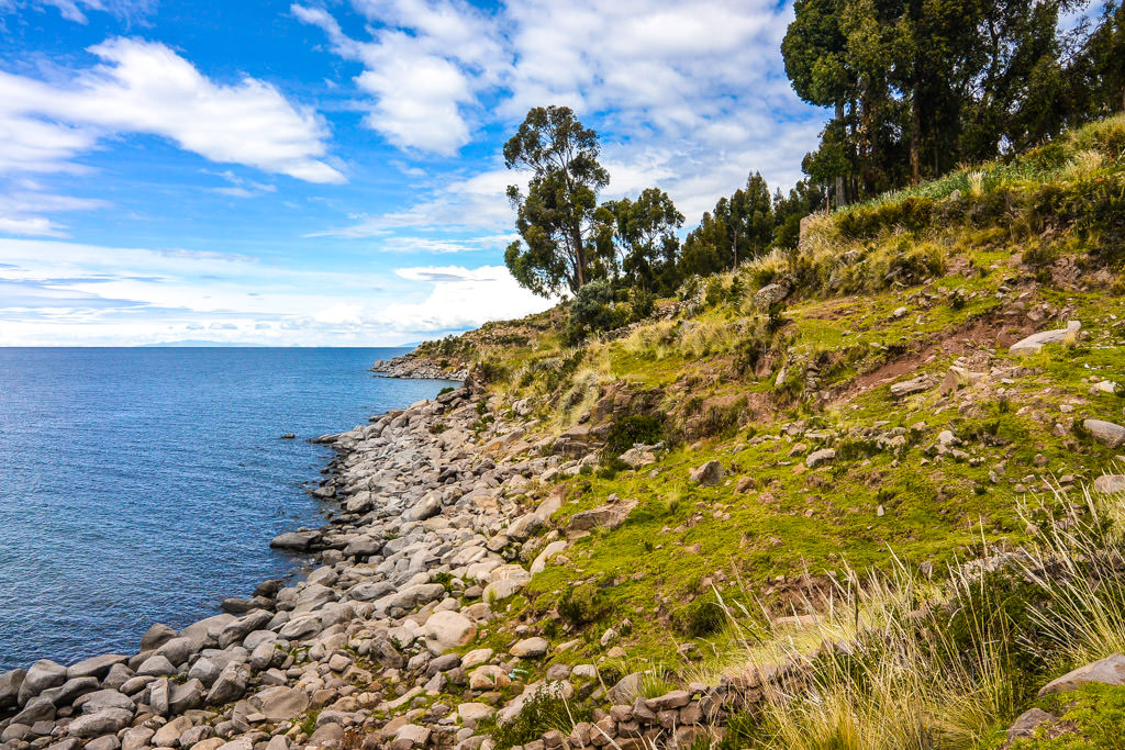 Traveling to Taquile Island in Lake Titicaca