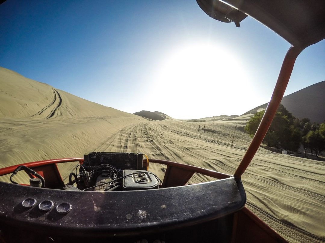 Sanboarding and Dune Buggies in Huacachina, Peru