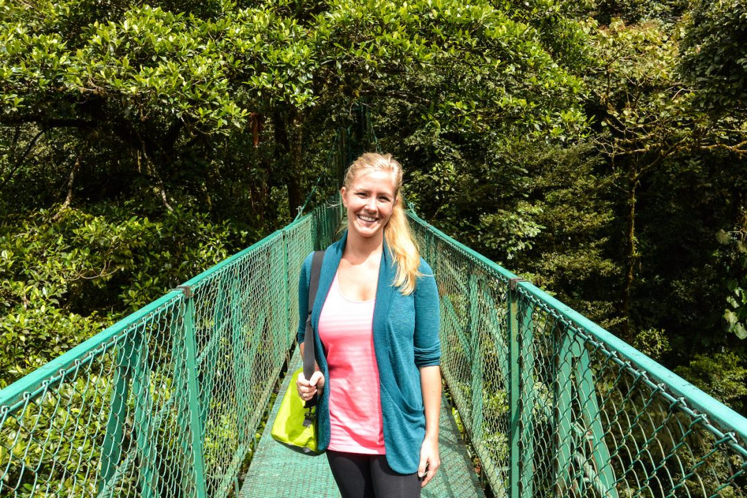 Costa Rica Monteverde Hanging Bridge