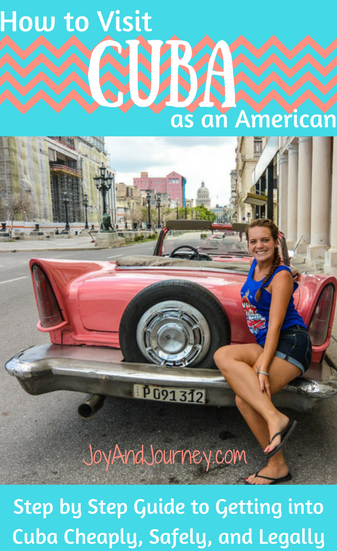 How to Go to Cuba as an American