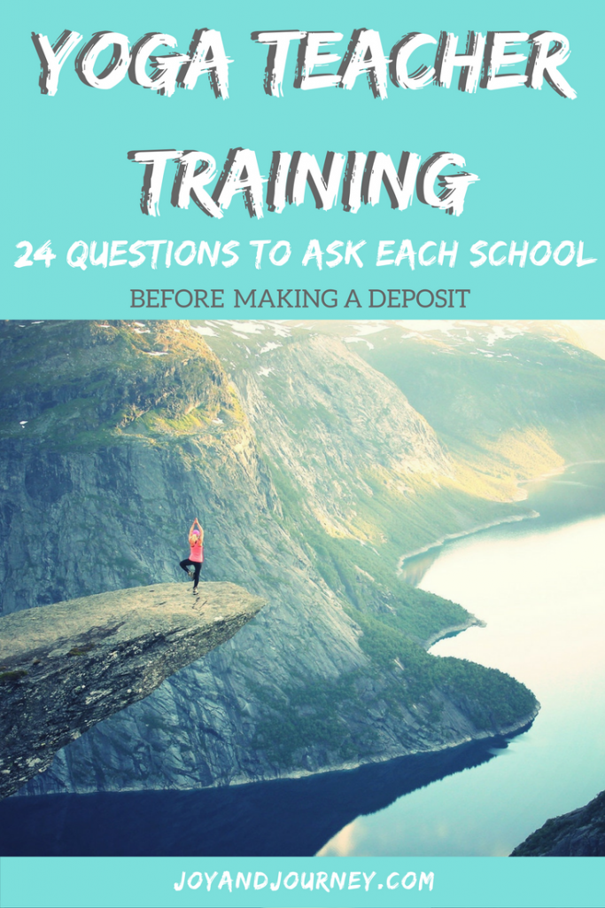 Questions to Ask Before Yoga Teacher Training