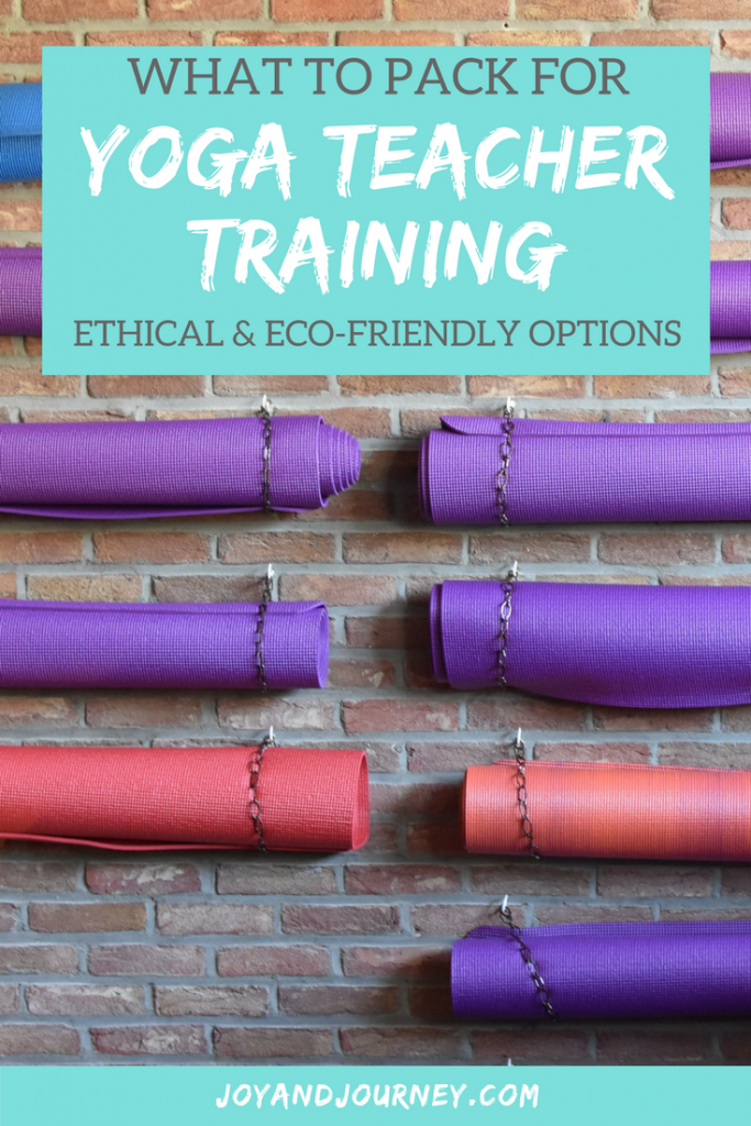 What to Pack for Yoga Teacher Training