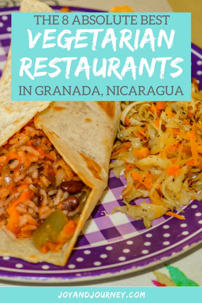 Best Vegetarian Restaurants in Granada Nicaragua