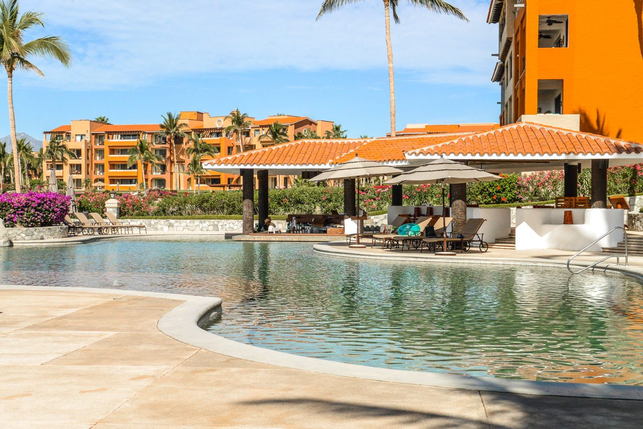 Pool area at Casa del Mar, Cabo, Mexico