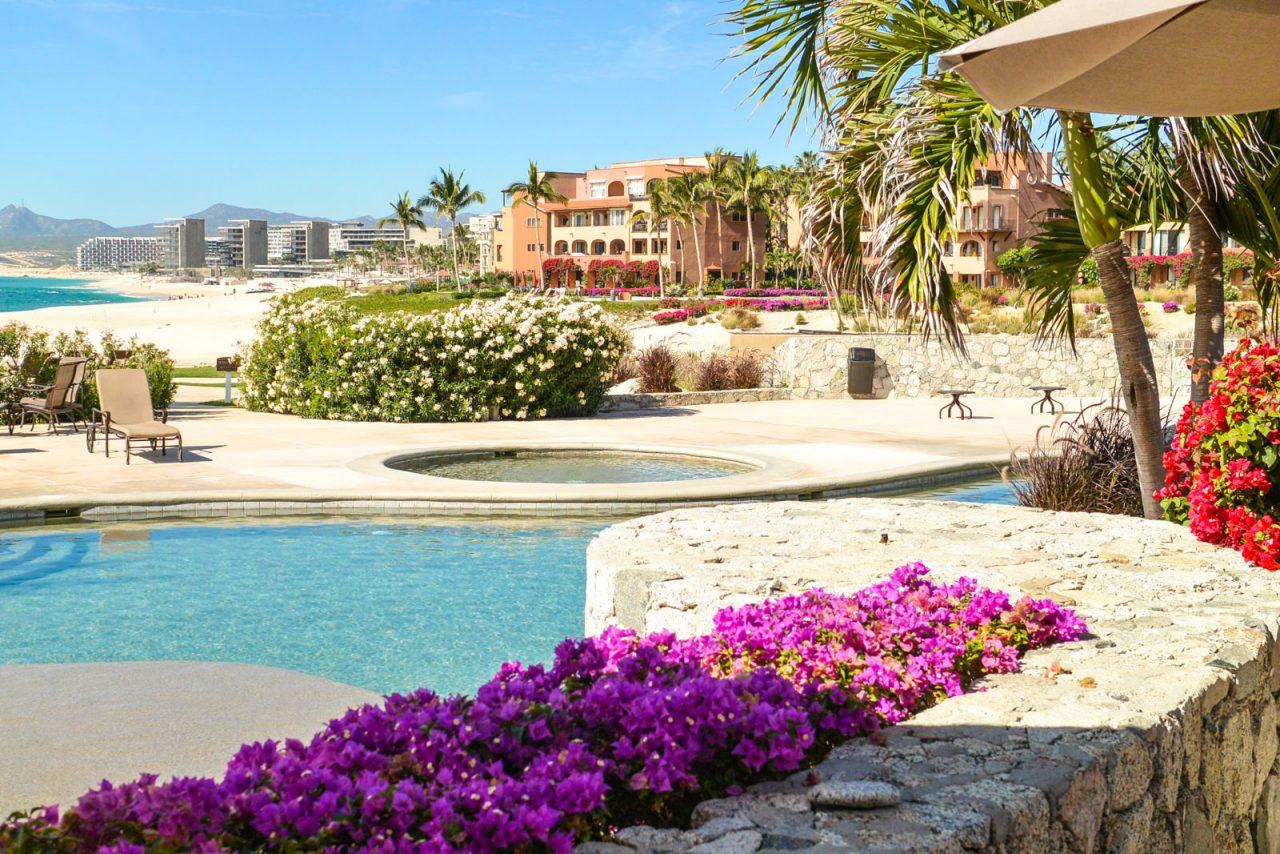 Pool area at Casa del Mar, Cabo, Mexico