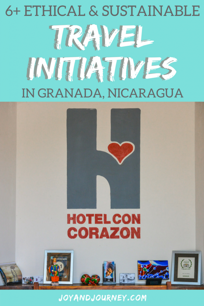 Ethical and Sustainable Travel Initiatives in Granada, Nicaragua