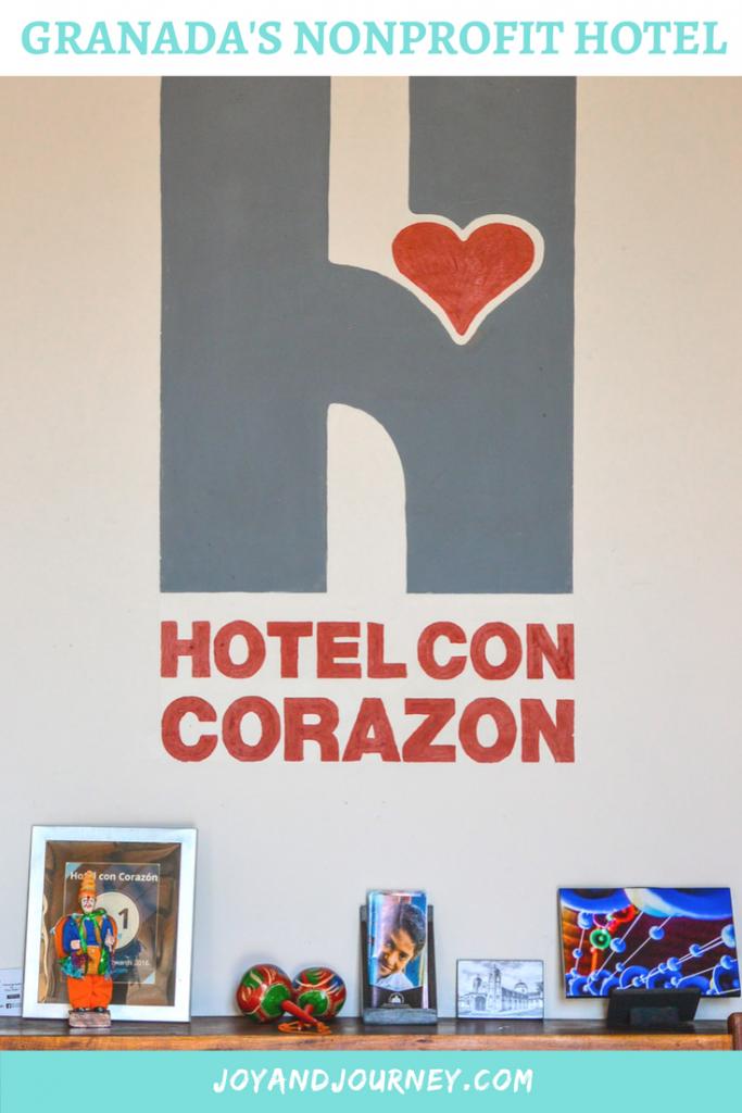 Hotel Con Corazon: Nonprofit Hotel in Granada, Nicaragua