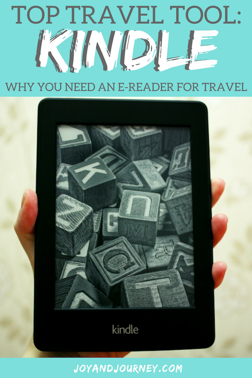 Why you need a Kindle for traveling
