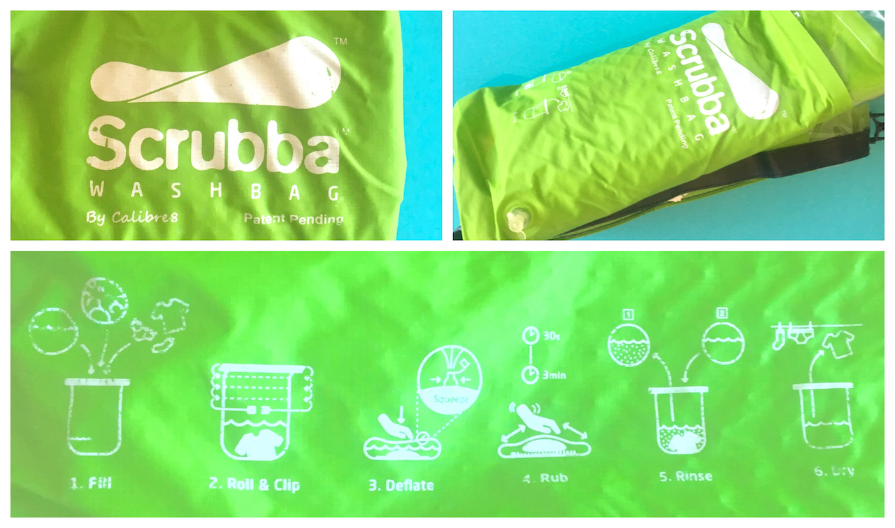 "Tuesday Travel Tools: Scrubba, Travel ""Washing Machine"" in a Bag"