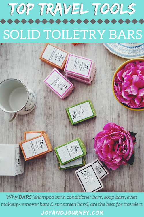 Solid Toiletry Bars: Solid Conditioner Bars, Solid Shampoo Bars, Solid Sunscreen Bars, Solid Makeup Remover Bars - They're the best for travel!