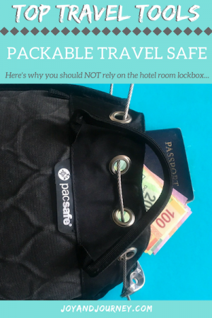 Top Travel Tools: Portable Travel Safe