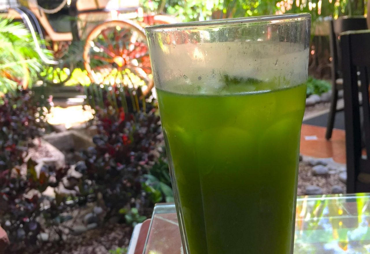 Chaya green drink from Merida